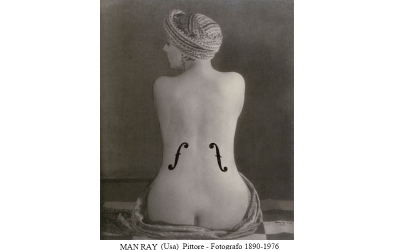 MAN RAY (Usa)  Pittore - Fotografo 1890 - 1976